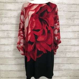 Style & Co. | Rose Print Tunic | Size XL